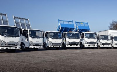 Isuzu Truck UK breaks records