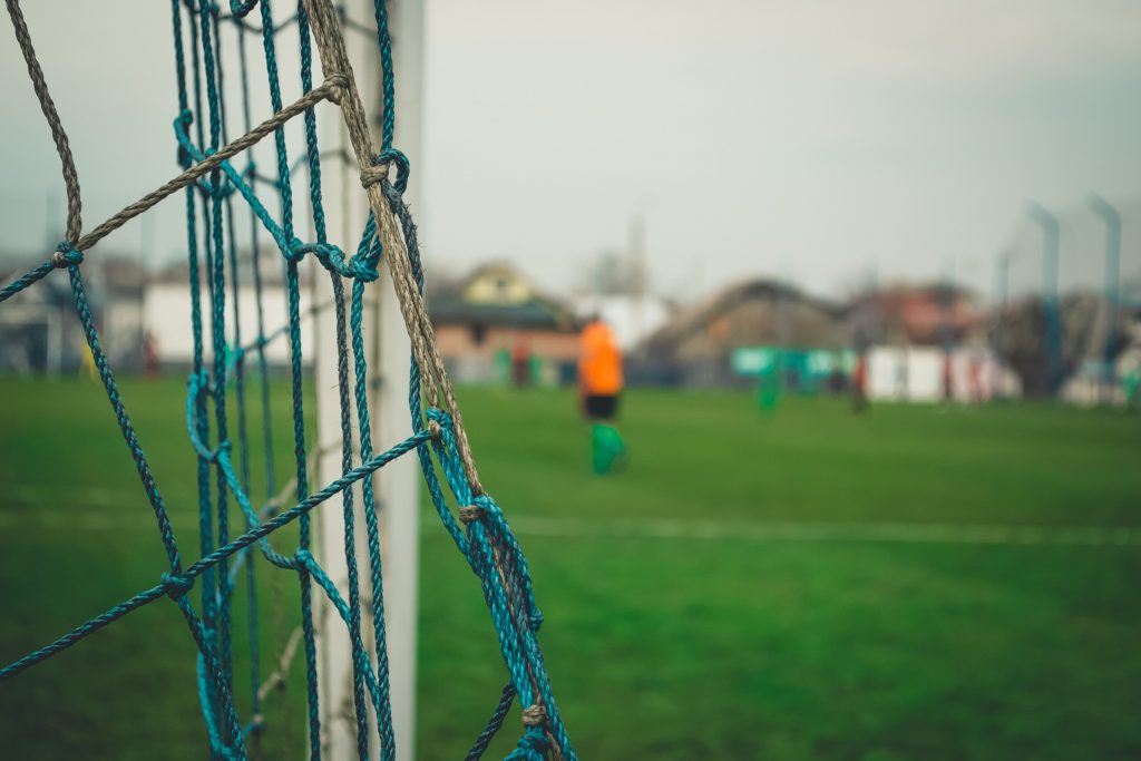 Community grass pitches