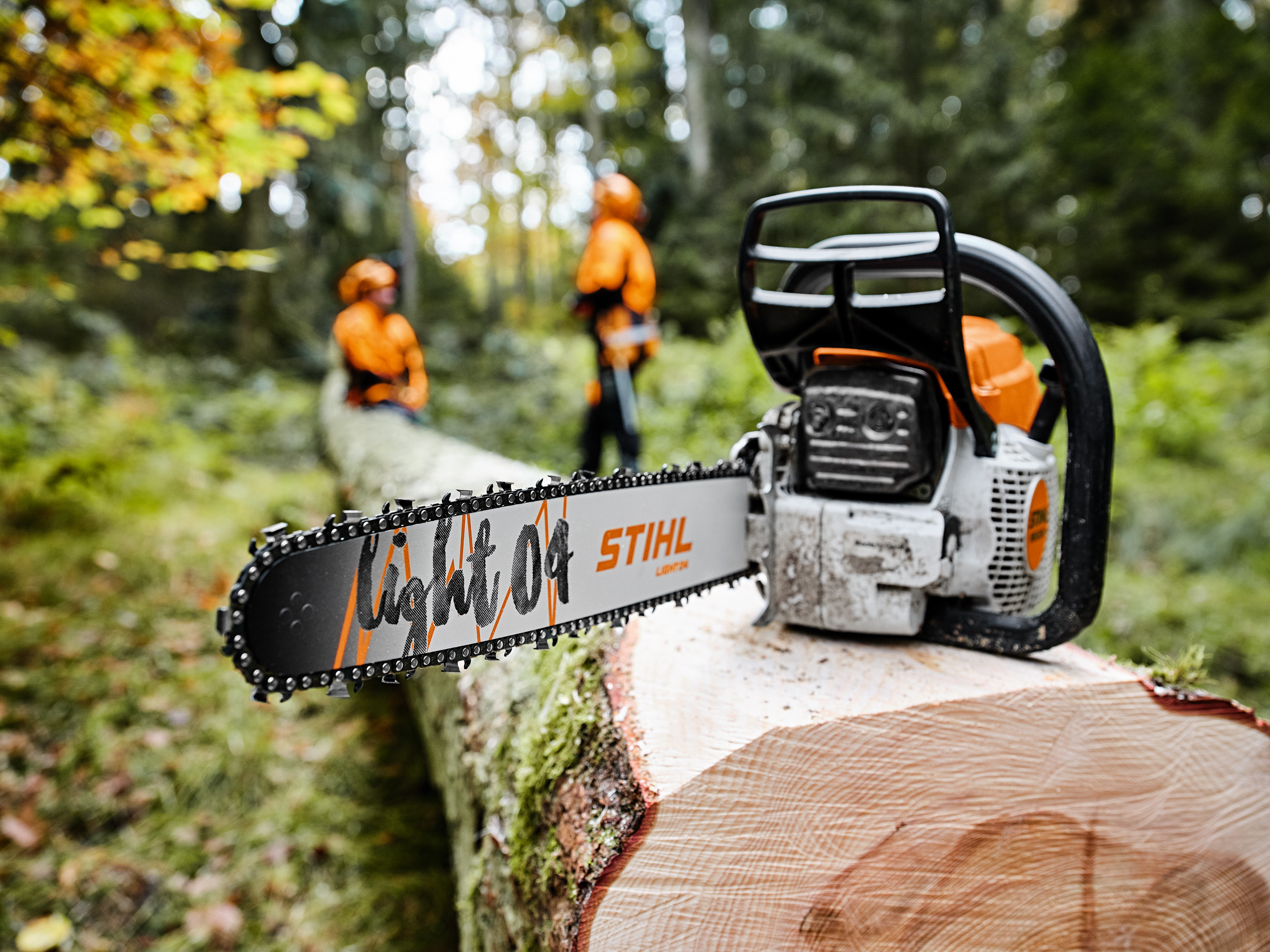 Saw chains upgrades from STIHL enhances cutting performance