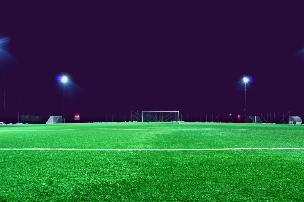 Maintaining winter pitches