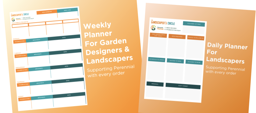 Landscaper's Circle supports The Horticultural Industry, One Planner At A Time