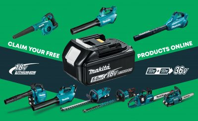 Makita redemption scheme