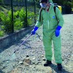 Weed control in public spaces