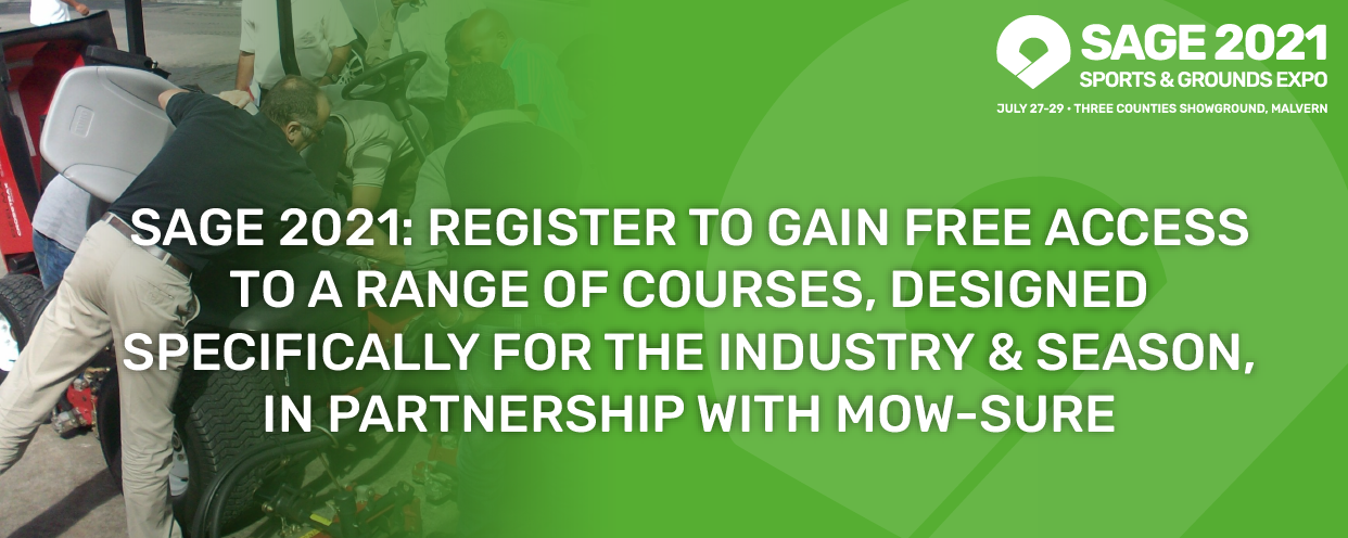 Free training courses at SAGE 2021