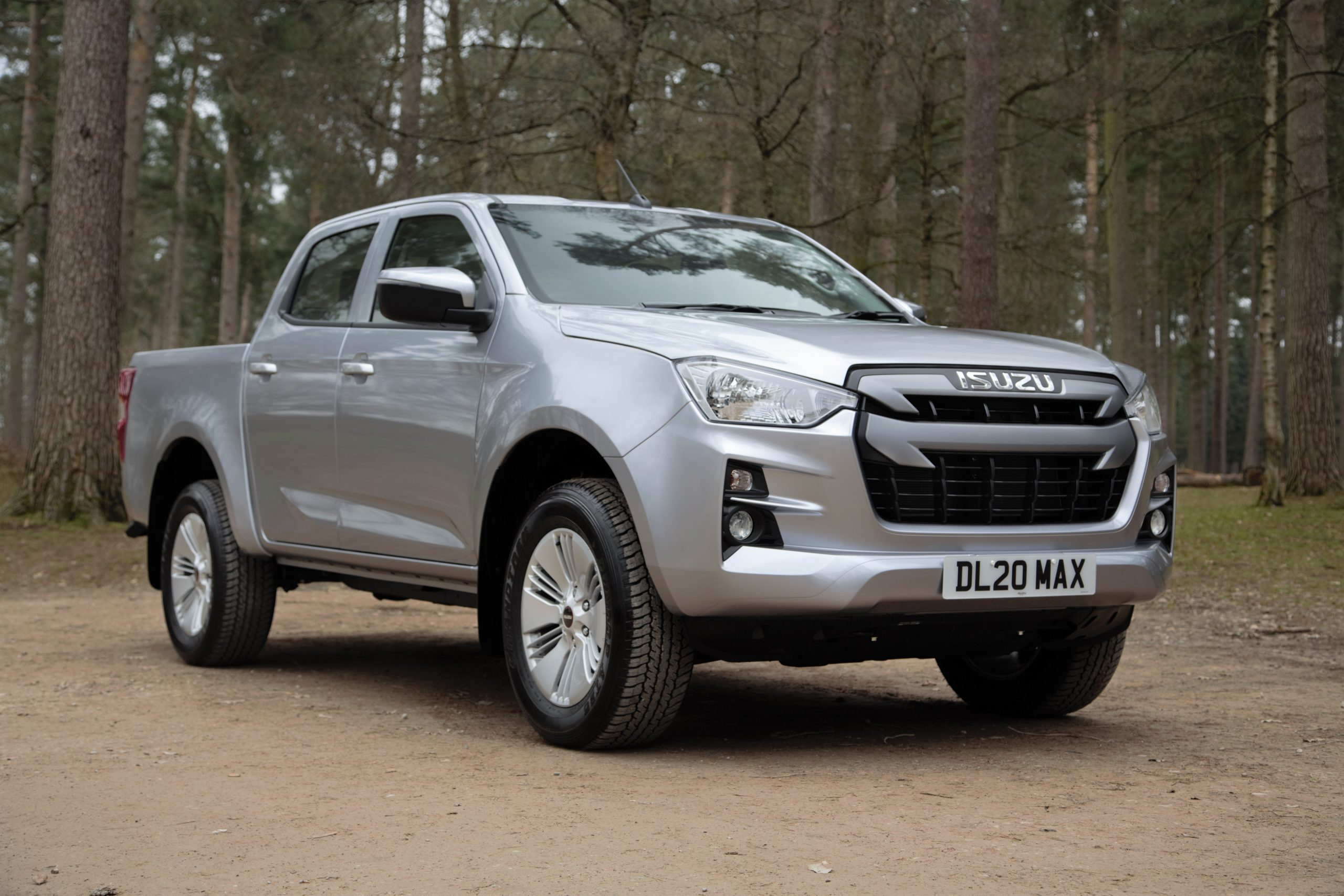 Pick up an all new Isuzu D-Max in 2021