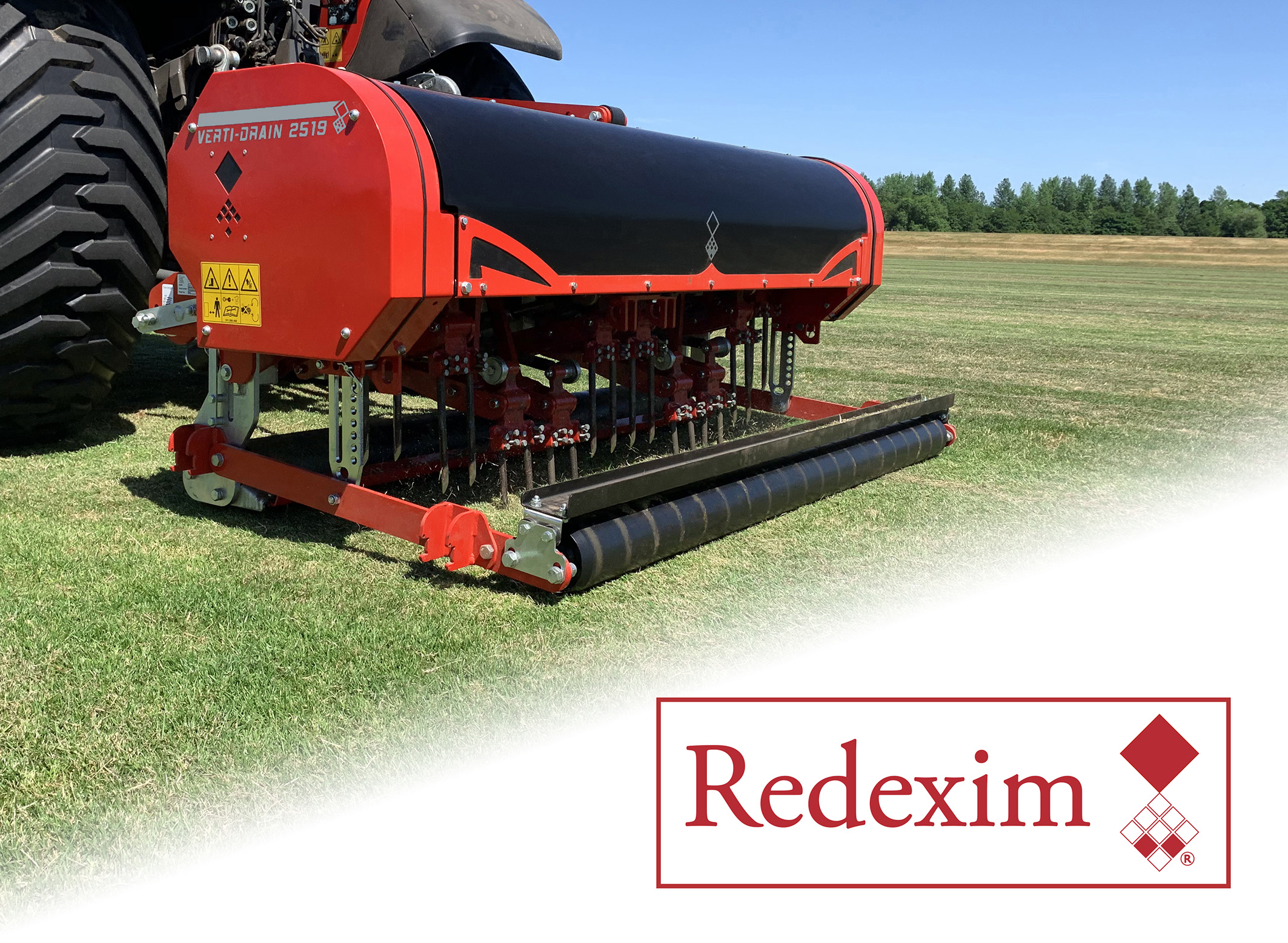 Charterhouse Turf Machinery officially re-brands to Redexim