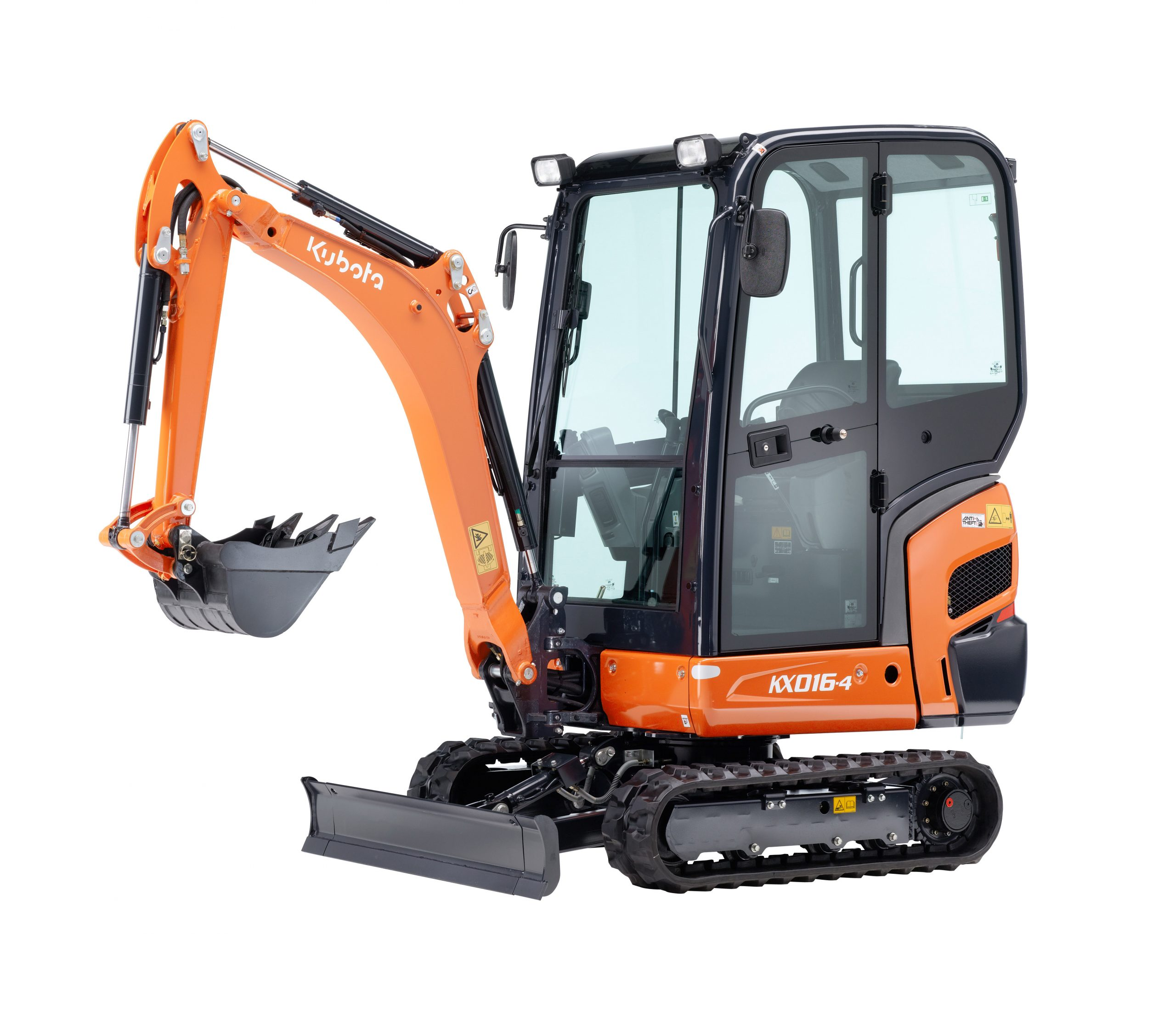 Hire or buy an excavator