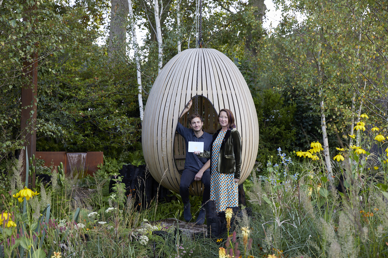 Yeo Valley wins RHS gold at Chelsea 2021